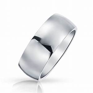 stainless steel mens wedding band ring 8mm With stainless steel wedding rings reviews