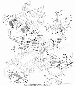 Scag Stt-28cat-ss  S  N E2100001-e2199999  Parts Diagram For Fuel And Hydraulic System