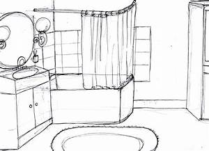 Dessiner Sa Salle De Bain : dessiner sa salle de bain en 3d gratuit faire sa salle ~ Dallasstarsshop.com Idées de Décoration