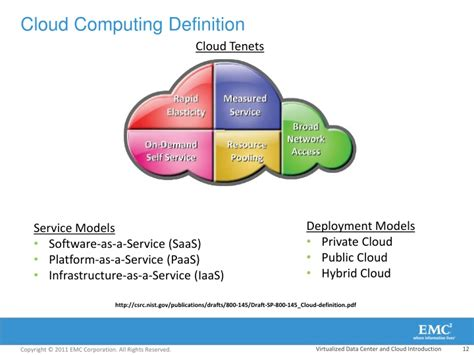 cloud definition ppt cloud computing looking forward to cloudy days in
