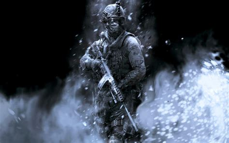 Call Of Duty Ghost Snipers Wallpapers Wallpaper Cave