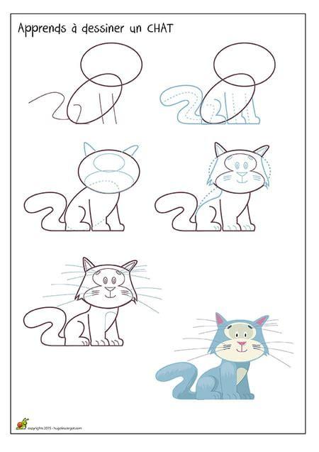 dessiner  chat