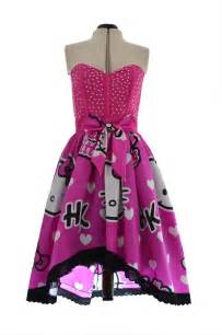 Hello Kitty Prom Dress