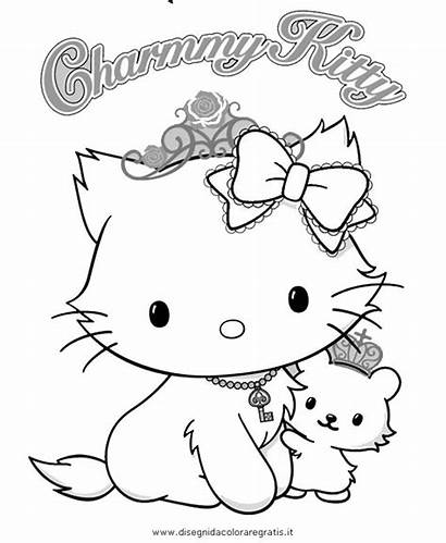 Coloring Pages Kitty Charmmy Coloriage Sanrio Hello