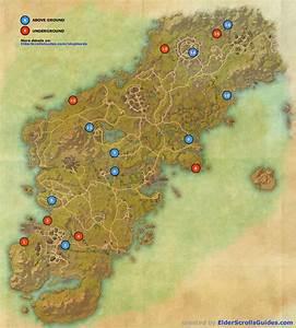 Glenumbra Skyshards Map Elder Scrolls Online Guides
