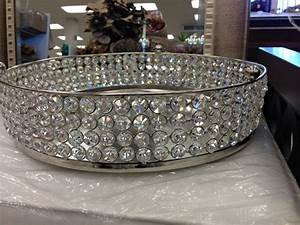 Gorgeous Rhinestone Tray - @HomeSense Canada Decor ৯