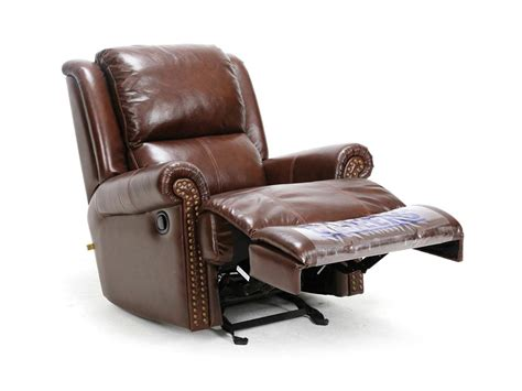 leather glider recliner with cheers living room leather glider recliner uk357 l1 1k