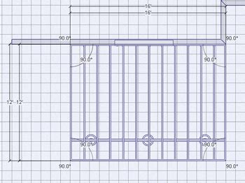 12x16 deck plans and material list plan drawing pent shed plans menards patio learn how