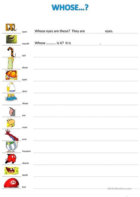 whose worksheet free esl printable worksheets made by teachers