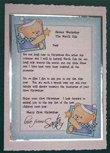 baby boy39s 1st letter from santa cup25545 359 craftsuprint With baby s first letter from santa