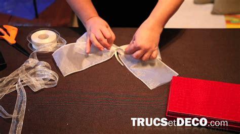 noeud pour chaise comment faire un noeud en ruban ou tissu tutoriel par