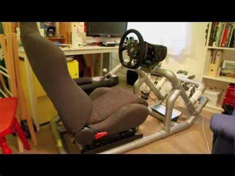 hints tips to diy a pvc sim driving rig part 1 of 5