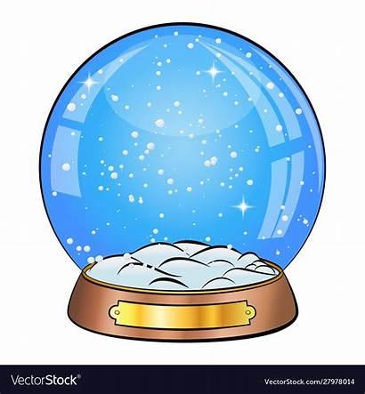 Globe Snow Empty Clipart Cartoon Clipground