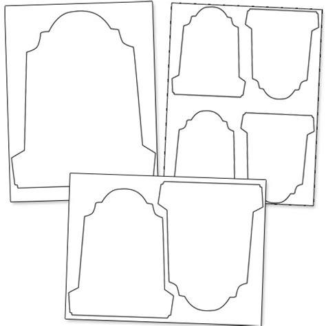 headstone template printable gravestone template printable treats
