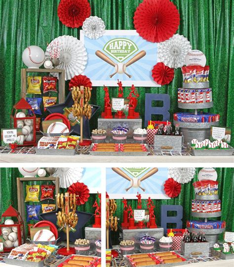 birthday party ideas rookie baseball party ideas sports party ideas at birthday in a box