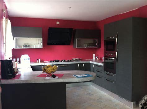 cuisine couleur grise decoration cuisine et gris