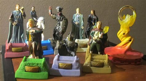 Amazon Com Burger King The Lord Of The Burger King Lord Of The Rings Figures For Sale Jojo 39 S