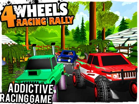 monster truck race game app shopper 4 wheels racing rally 3d monster truck race