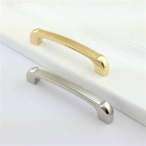 brushed gold cabinet pulls 96mm modern fashion kitchen cabinet handle gold brushed