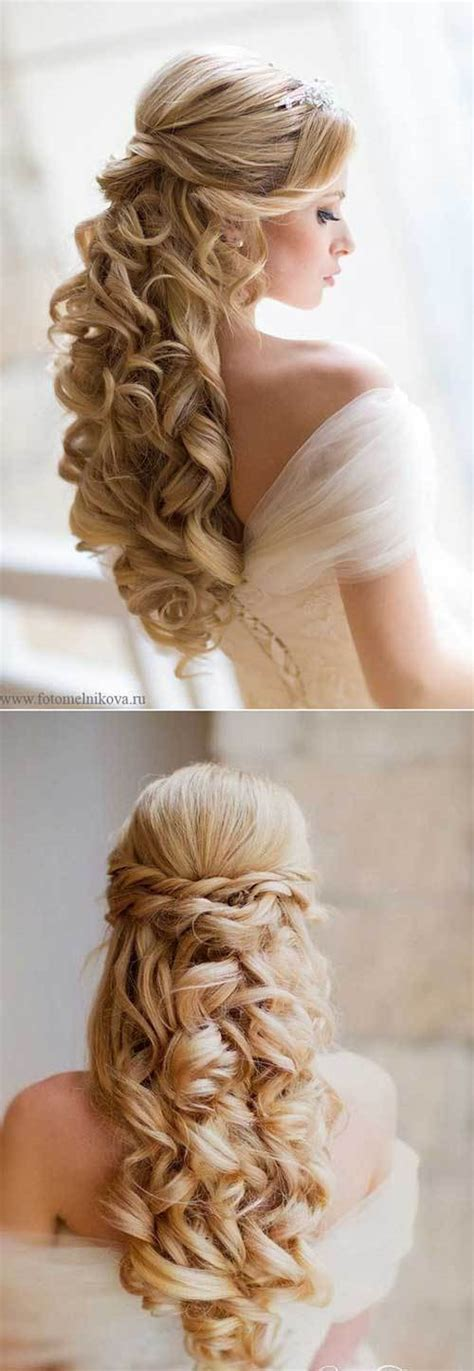 Wedding Half Updo Hairstyles by 25 Half Updo Wedding Hairstyles Crazyforus