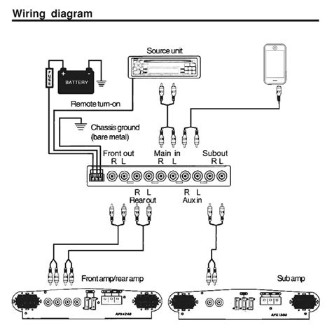 kicker kisl wiring diagram collection wiring diagram sle