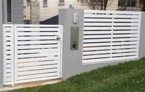 Horizontal Slat Ped Gate & Fence Panel