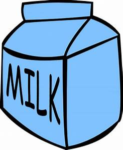 Glass Of Milk Cartoon