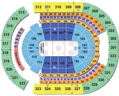 Bridgestone Arena Hockey Tickets Seating Chart Schedule