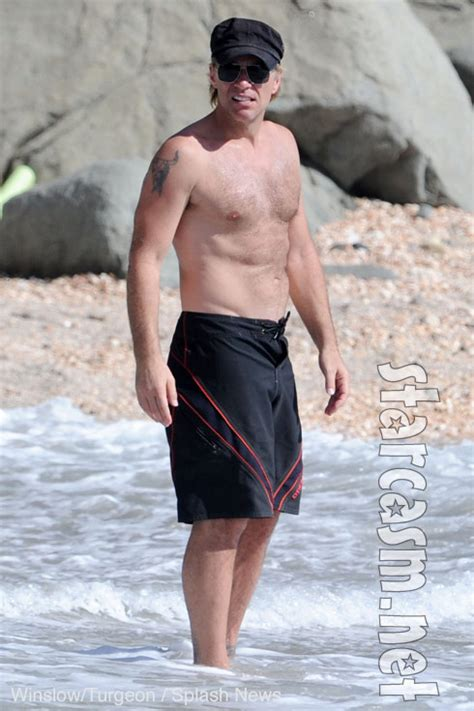 jon bon jovi hits  beach  st barths