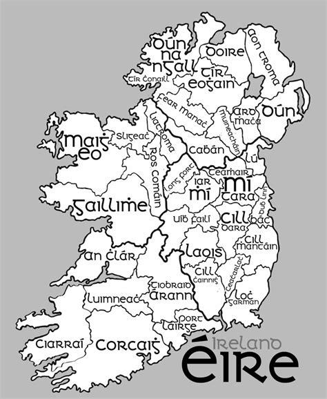 map  ireland  irish boardsie
