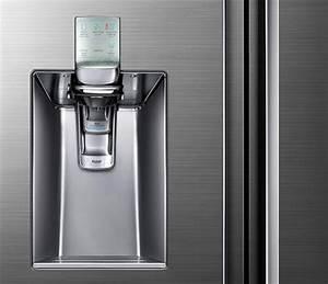 Refrigerateur Distributeur D Eau : un frigo avec distributeur d 39 eau p tillante ~ Melissatoandfro.com Idées de Décoration