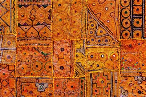 colorful indian fabric textile texture background
