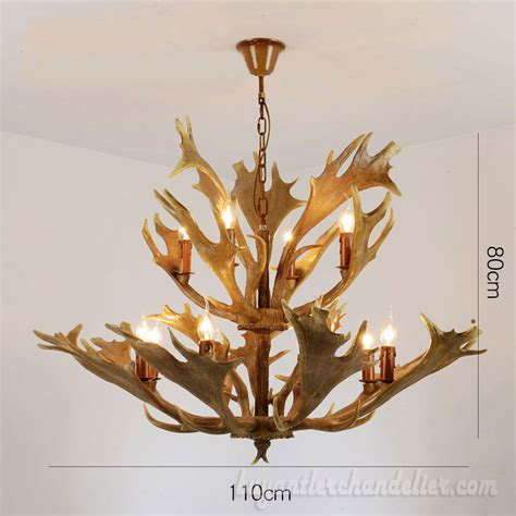 Antler Chandelier Shop by Moose Antler Chandelier 8 4 Ascade Ceiling Lights