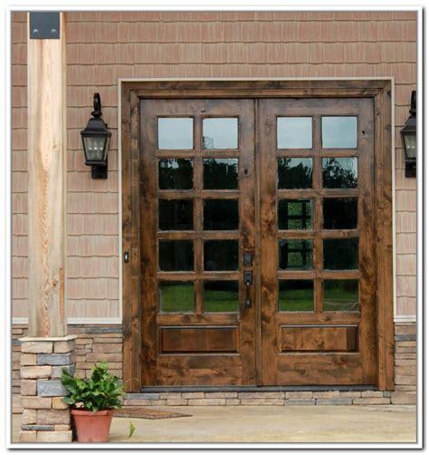 10 inspiring wooden exterior doors photos