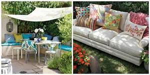 Coussin Pour Canape Exterieur : coussin de jardin un confort moelleux ~ Teatrodelosmanantiales.com Idées de Décoration