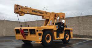 15 Ton Broderson Load Chart Carry Deck Crane Operator Safety Training Alberta