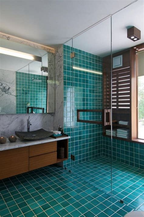 Teal Bathroom Tile Ideas by Teal Home Decorations That Will Make You Add This Color