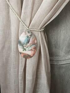 Embrasse Rideau Originale : embrasse de rideau shabby collection marquise mod le l le monde de rose ~ Teatrodelosmanantiales.com Idées de Décoration