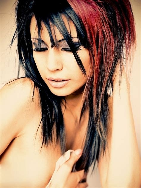 multi color hair styles multi tonal hair color ideas for 2012