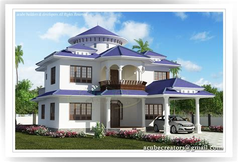 design luxury house beautiful kerala house  sqft