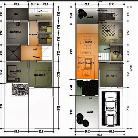 rumah minimalis luas tanah  informasi desain