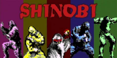 shinobi virtual console nintendo ds games nintendo