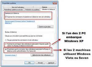 Bureau A Distance Windows 7 Tuto by Comment Prendre Le Controle D Un Pc A Distance Windows 7