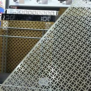 Decorative metal sheets on sale at home depot! So many