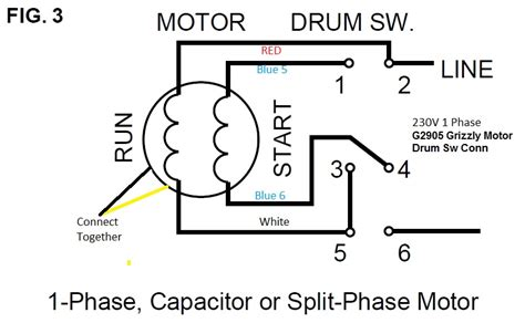 Motor Drum Switch Wiring Help