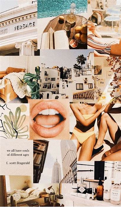Collage Aesthetic Phone Mood Vogue Wallpapers Backgrounds