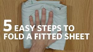 Fold A Fitted Sheet In 5 Easy Steps