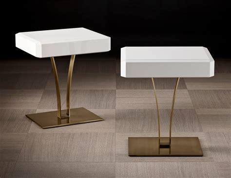 side table modern design nella vetrina polifemo luxury italian end table white