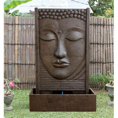 tete de bouddha superbe fontaine mur d eau de bouddha pas ch 232 re