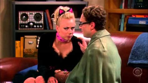 big bang theory penny leonards  kiss youtube